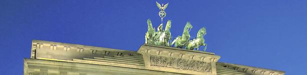 Das Brandenburger Tor in Berlin - Internet-Service Berlin, Webdesign, Homepage erstellen, Online-Shop erstellen
