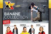 Referenz Online-Shop banane-mode.de - Internet-Service Berlin - Webdesign, Homepage-Erstellung, Online-Shop-Erstellung
