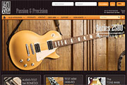 Referenz Online-Shop ABM Guitar Parts  - Internet-Service Berlin - Webdesign, Homepage-Erstellung, Online-Shop-Erstellung