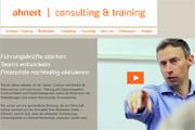 Referenz Website Ahnert Consulting, Berlin - Internet-Service Berlin - Webdesign, Homepage-Erstellung, Online-Shop-Erstellung
