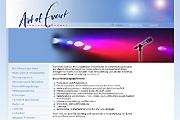 Referenz Art of Event Veranstaltungen, Berlin - Referenzen Internet-Service Berlin - Webdesign, Homepage-Erstellung, Online-Shop-Erstellung