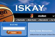 Referenz Online Shop ISKAY Basketball Berlin - Internet-Service Berlin - Webdesign, Homepage-Erstellung, Online-Shop-Erstellung