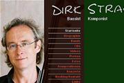 Referenz Dirk Strakhof, Bassist und Komponist, Berlin - Internet-Service Berlin, Webdesign, Homepage-Erstellung, Online-Shop-Erstellung