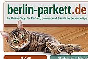 Referenz Online Shop Berlin-Parkett - Referenzen Internet-Service Berlin - Webdesign, Homepage-Erstellung, Online-Shop-Erstellung