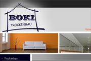 Referenz Website BOKI Trockenbau Berlin - Internet-Service Berlin - Webdesign, Homepage-Erstellung, Online-Shop-Erstellung