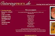 Referenz Cateringprofis Berlin - Referenzen Internet-Service Berlin - Webdesign, Homepage-Erstellung, Online-Shop-Erstellung