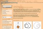 Referenz Online-Shop Collana Schmuckdesign & Perlen, Berlin - Internet-Service Berlin - Webdesign, Homepage-Erstellung, Online-Shop-Erstellung