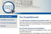Referenz Deutsches Institut für Bauqualität - Referenzen Internet-Service Berlin - Webdesign, Homepage-Erstellung, Online-Shop-Erstellung