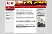 Referenz Website EAB Anlagen, Berlin - Internet-Service Berlin - Webdesign, Homepage-Erstellung, Online-Shop-Erstellung