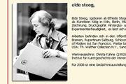 Referenz Elde Steeg, Malerin - Internet-Service Berlin - Webdesign, Homepage-Erstellung, Online-Shop-Erstellung
