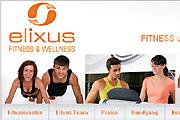 Referenz Elixus Fitnesscenter Wildau - Referenzen Internet-Service Berlin - Webdesign, Homepage-Erstellung, Online-Shop-Erstellung