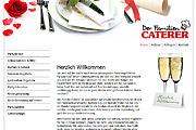 Referenz Website Der Familiencaterer, Berlin - Internet-Service Berlin - Webdesign, Homepage-Erstellung, Online-Shop-Erstellung
