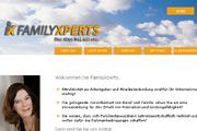 Referenz FamilyXperts, Familienservice, Berlin - Referenzen Internet-Service Berlin - Webdesign, Homepage-Erstellung, Online-Shop-Erstellung
