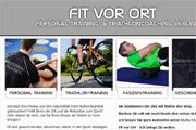Referenz Fitvorort, Personal Trainer Christian Heppner, Berlin - Internet-Service Berlin - Webdesign, Homepage-Erstellung, Online-Shop-Erstellung