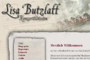 Referenz Flötistin Lisa Butzlaff - Internet-Service Berlin - Webdesign, Homepage-Erstellung, Online-Shop-Erstellung