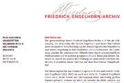 Referenz Website Friedrich Engelhorn-Archiv - Webdesign, Homepage-Erstellung, Online-Shop-Erstellung