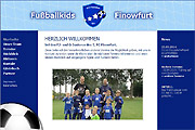 Referenz Fußballkids Finowfurt - Internet-Service Berlin, Webdesign, Homepage-Erstellung, Online-Shop-Erstellung