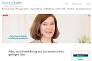 Referenz Gabriele Eylers, Coaching und Entwicklungsberatung, Berlin - Internet-Service Berlin - Webdesign, Homepage-Erstellung, Online-Shop-Erstellung