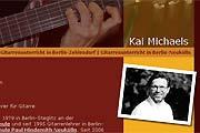 Referenz Gitarrenlehrer Kai Michaels, Berlin - Internet-Service Berlin, Webdesign, Homepage-Erstellung, Online-Shop-Erstellung