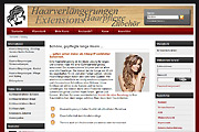 Referenz Online-Shop haarverlaengerungen-shop.de, Berlin - Internet-Service Berlin - Webdesign, Homepage-Erstellung, Online-Shop-Erstellung