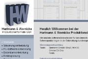 Referenz Hartmann & Wernicke Automatisierungstechnik Berlin - Referenzen Internet-Service Berlin - Webdesign, Homepage-Erstellung, Online-Shop-Erstellung