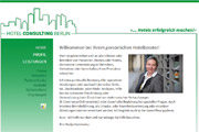 Referenz Website Hotel Consulting Berlin - Internet-Service Berlin - Webdesign, Homepage-Erstellung, Online-Shop-Erstellung
