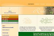 Referenz Hotel Döllnsee-Schorfheide - Internet-Service Berlin - Webdesign, Homepage-Erstellung, Online-Shop-Erstellung