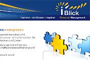 Referenz iBlick Personalmanagement, Berlin - Referenzen Internet-Service Berlin - Webdesign, Homepage-Erstellung, Online-Shop-Erstellung