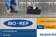 Referenz Website IBO-REP Industriebode, Ahrensfelde - Internet-Service Berlin - Webdesign, Homepage-Erstellung, Online-Shop-Erstellung