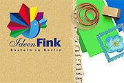 Referenz Ideenfink, Basteln und Kreativworkshops in Berlin - Internet-Service Berlin - Webdesign, Homepage-Erstellung, Online-Shop-Erstellung
