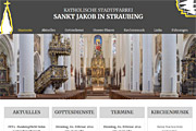 Referenz Kirchengemeinde Sankt Jakob, Straubing - Webdesign, Homepage-Erstellung, Online-Shop-Erstellung