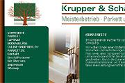 Referenz Krupper & Schäfer Parkett und Bodenbeläge, Berlin - Referenzen Internet-Service Berlin - Webdesign, Homepage-Erstellung, Online-Shop-Erstellung