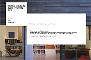 Referenz Kusus + Kusus Architekten, Berlin - Referenzen Internet-Service Berlin - Webdesign, Homepage-Erstellung, Online-Shop-Erstellung