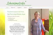 Referenz Lebensmelodie - Praxis für Psychotherapie, Berlin - Internet-Service Berlin - Webdesign, Homepage-Erstellung, Online-Shop-Erstellung