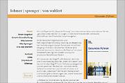 Referenz Website Lohmner/Sprenger/von Wahlert Gesundes Führen - Internet-Service Berlin - Webdesign, Homepage-Erstellung, Online-Shop-Erstellung