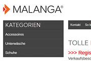 Referenz Malanga - Internet-Service Berlin - Webdesign, Homepage-Erstellung, Online-Shop-Erstellung