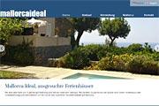Referenz Mallorcaideal Immobilien - Internet-Service Berlin - Webdesign, Homepage-Erstellung, Online-Shop-Erstellung