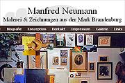 Referenz Maler Manfred Neumann, Frankfurt/Oder - Internet-Service Berlin, Webdesign, Homepage-Erstellung, Online-Shop-Erstellung