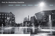 Referenz Maximilian Haedicke - Internet-Service Berlin - Webdesign, Homepage-Erstellung, Online-Shop-Erstellung