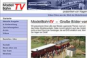 Referenz Website ModellBahnTV - Internet-Service Berlin - Webdesign, Homepage-Erstellung, Online-Shop-Erstellung