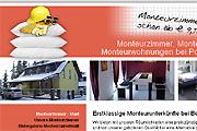 Referenz Monteurzimmer in Stahnsdorf bei Berlin und Potsdam - Referenzen Internet-Service Berlin - Webdesign, Homepage-Erstellung, Online-Shop-Erstellung
