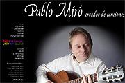 Referenz Pablo Miro, Berlin - Internet-Service Berlin - Webdesign, Homepage-Erstellung, Online-Shop-Erstellung