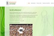 Referenz Website Physiotherapie Hesse-Krull, Berlin-Marienfelde - Internet-Service Berlin, Webdesign, Homepage-Erstellung, Online-Shop-Erstellung
