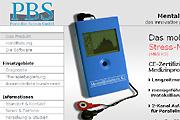 Referenz PortaBioScreen Stressmessgeräte - Internet-Service Berlin - Webdesign, Homepage-Erstellung, Online-Shop-Erstellung