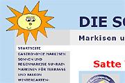 Referenz Website Die Schattenecke, Dahlewitz - Sonnenschutz und Markisen - Referenzen Internet-Service Berlin - Webdesign, Homepage-Erstellung, Online-Shop-Erstellung