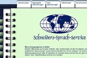 Referenz Website Schneiders Sprach-Service Berlin - Internet-Service Berlin - Webdesign, Homepage-Erstellung, Online-Shop-Erstellung
