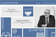 Referenz Bernd Sprenger, Coaching, Supervision, Mediation, Berlin - Internet-Service Berlin - Webdesign, Homepage-Erstellung, Online-Shop-Erstellung