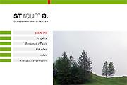 Referenz st raum a. Landschaftsarchitekten, Berlin - Referenzen Internet-Service Berlin - Webdesign, Homepage-Erstellung, Online-Shop-Erstellung