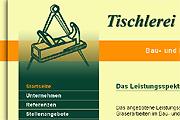 Referenz Tischlerei Krüger, Berlin - Referenzen Internet-Service Berlin - Webdesign, Homepage-Erstellung, Online-Shop-Erstellung
