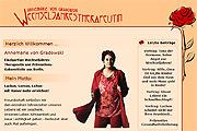 Referenz Website Annemarie von Gradowski, Wechseljahrestherapeutin - Internet-Service Berlin, Webdesign, Homepage-Erstellung, Online-Shop-Erstellung